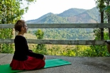Outside spaces for yoga and other practices